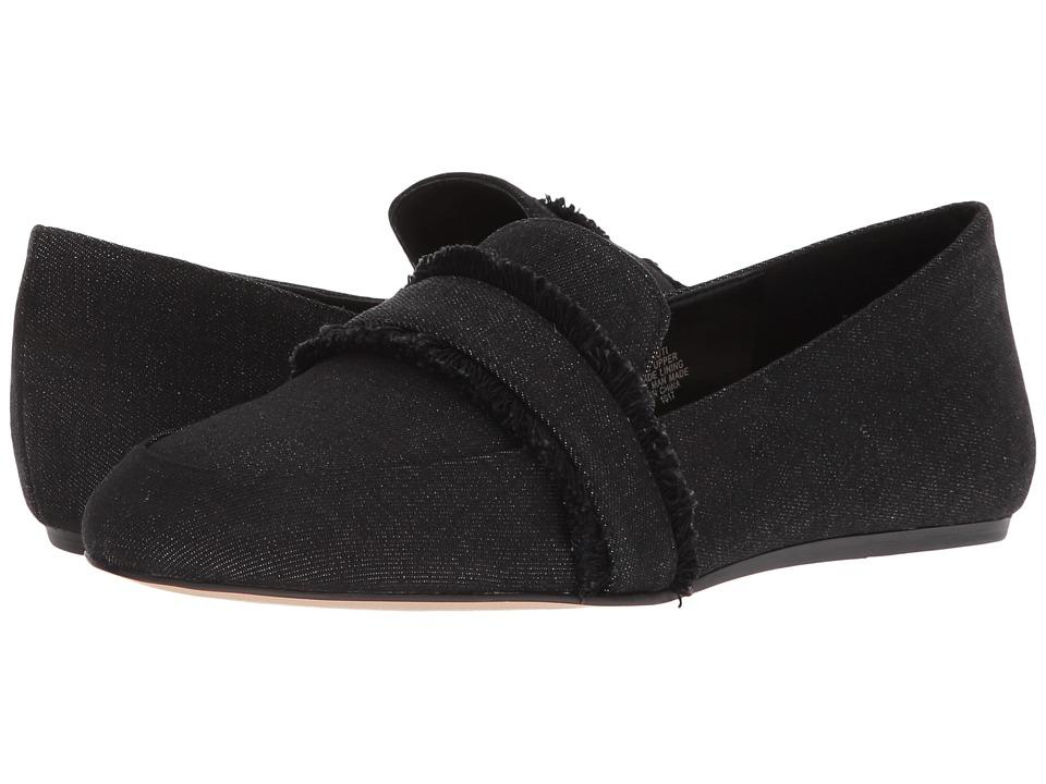 Nine West Baruti Loafer (Black Cool Denim) Women