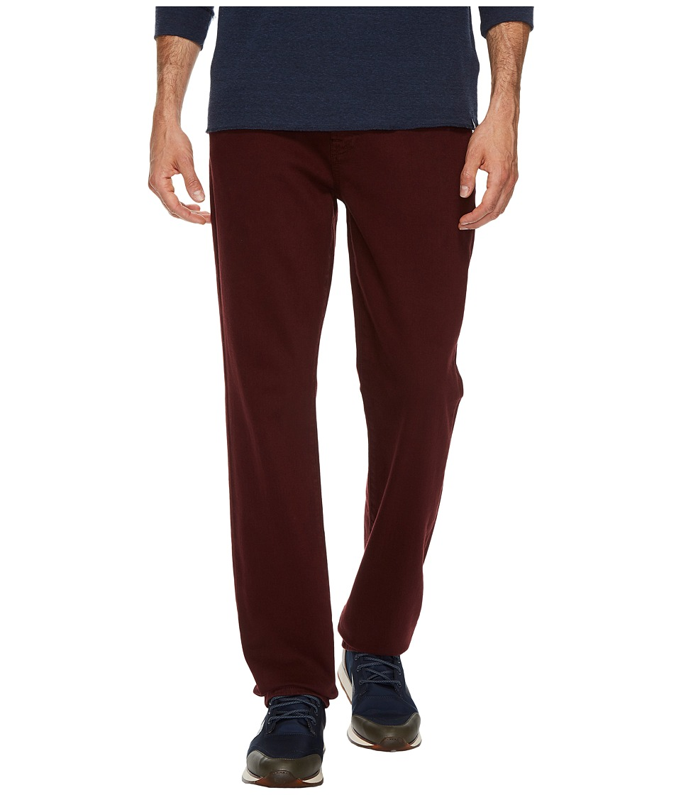 7 For All Mankind Slimmy Slim Straight in Oxblood (Oxblood) Men