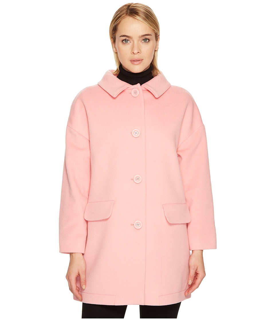 Boutique Moschino - Puffer Paneled Peacoat