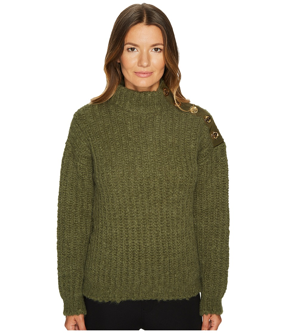 Boutique Moschino - Green Chunky Knit