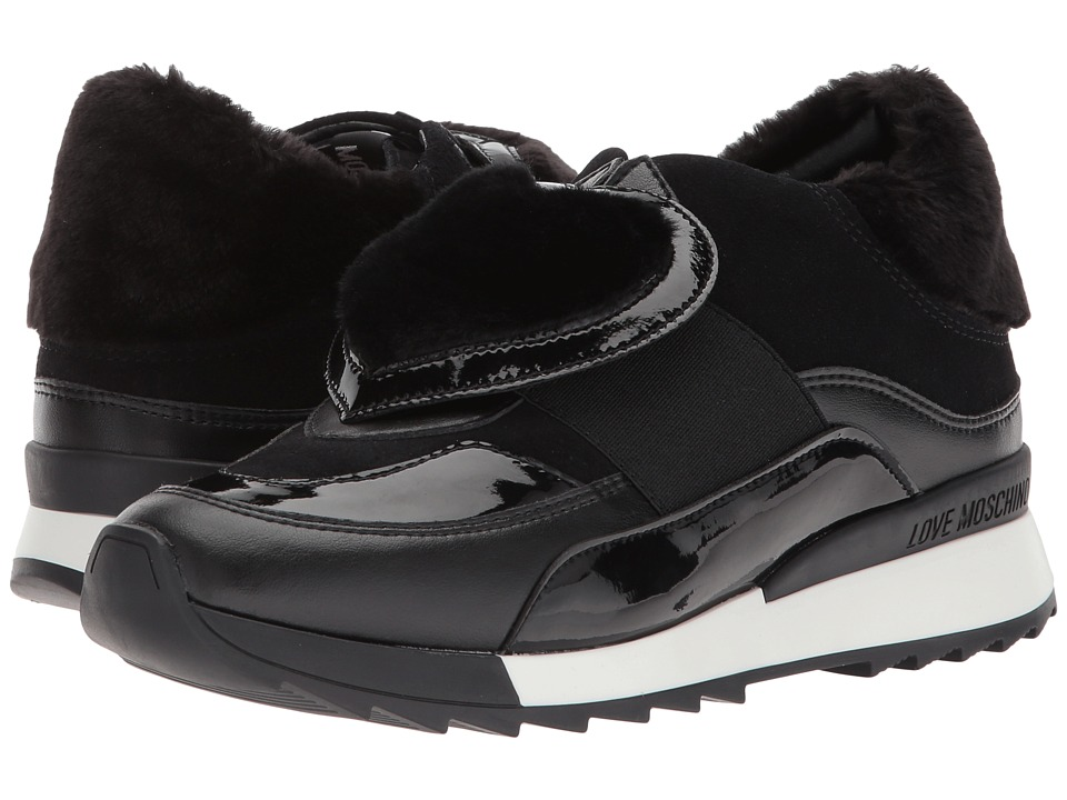 LOVE Moschino Platform Sneaker (Black) Women