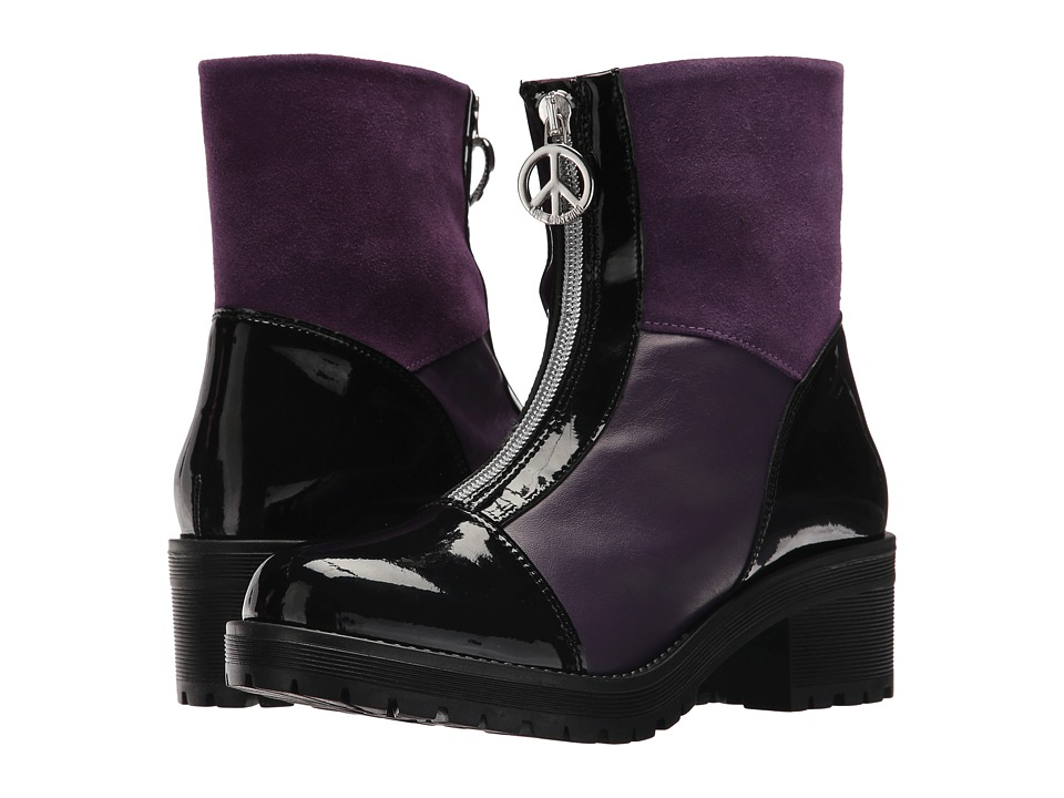 LOVE Moschino Short Rain Boots (Violet) Women