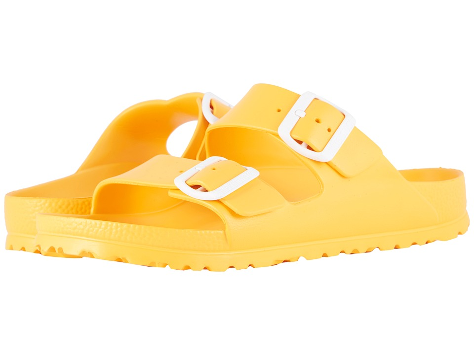 Birkenstock - Arizona Essentials (Scuba Yellow EVA) Womens Shoes