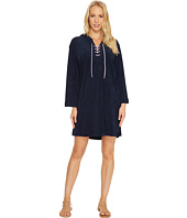 Seafolly - Island Vibe Lace-Up Towelling Cover-Up