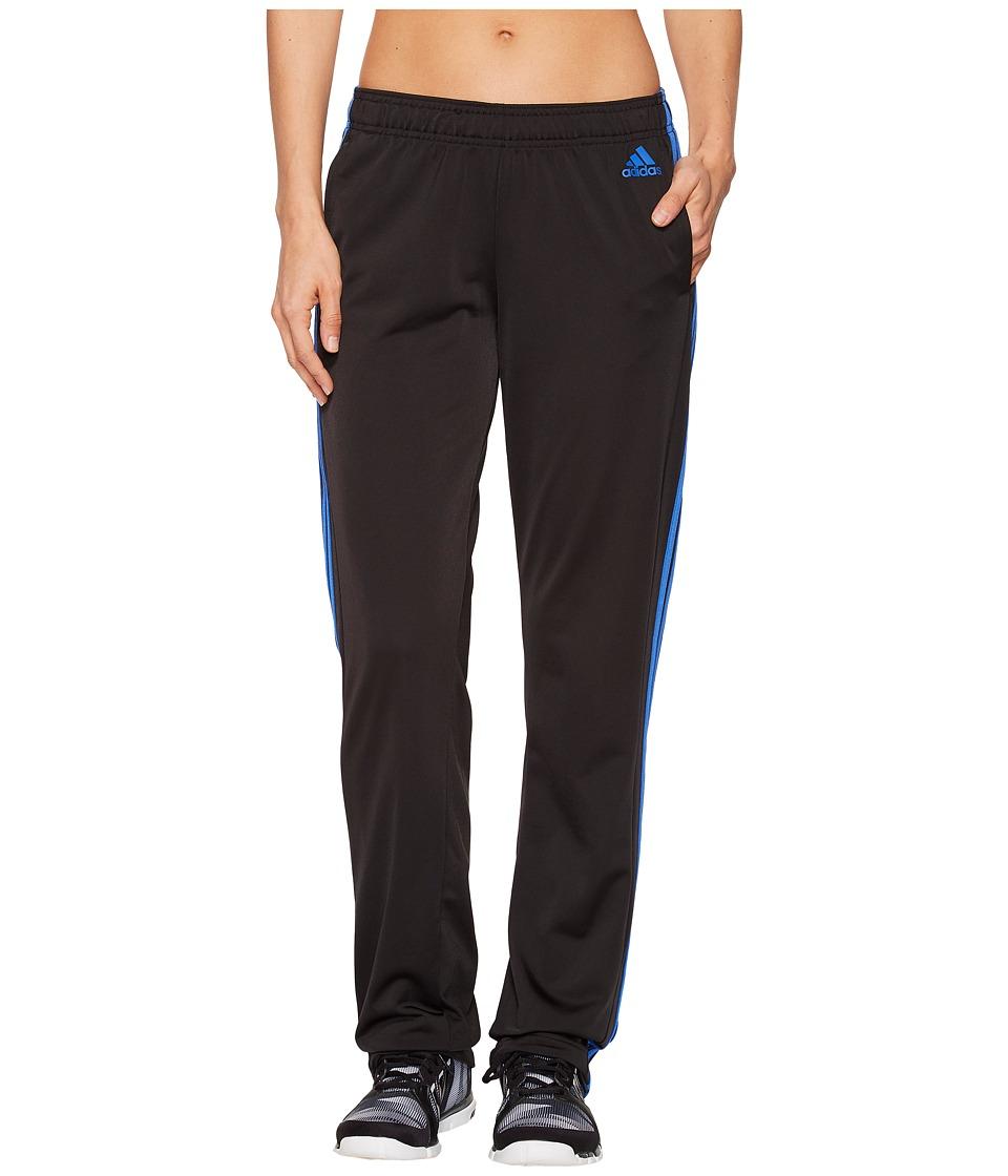 adidas - Designed-2-Move Straight Pants (Black/Hi-Res Blue) Womens Casual Pants