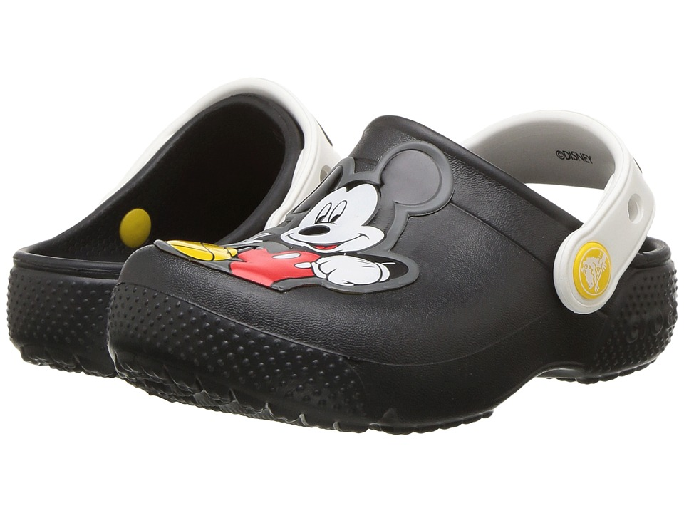 Crocs Kids - FunLab Mickey Clog (Toddler/Little Kid) (Black) Boys Shoes