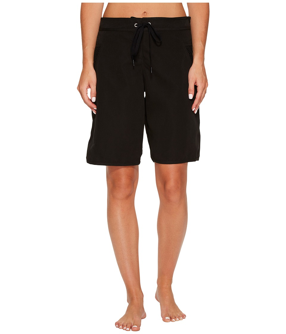 Seafolly High Water Boardshorts (Black) Women