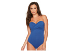 Seafolly CD Wrap Front Bandeau One-Piece Maillot