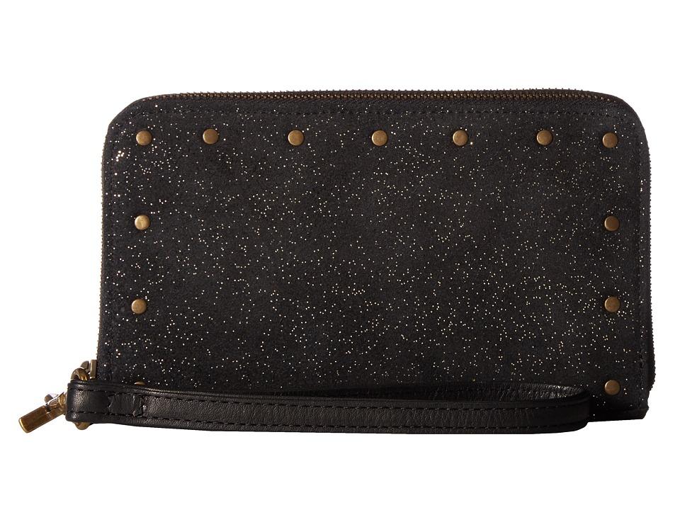 Day & Mood - Shimma Wallet (Black Spotty) Wallet Handbags