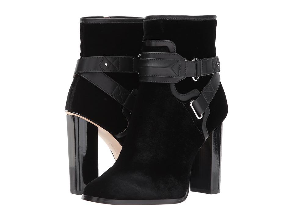 Calvin Klein Korrie (Black Velvet/Cow Silk) Women