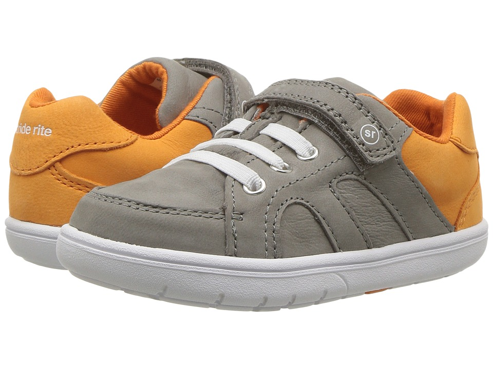 Stride Rite SRT Noe (Little Kid) (Grey/Orange) Boys Shoes
