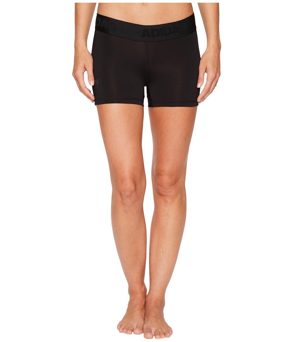 Adidas Alphaskin Sport 3 Short Tights (Black) Women's Shorts