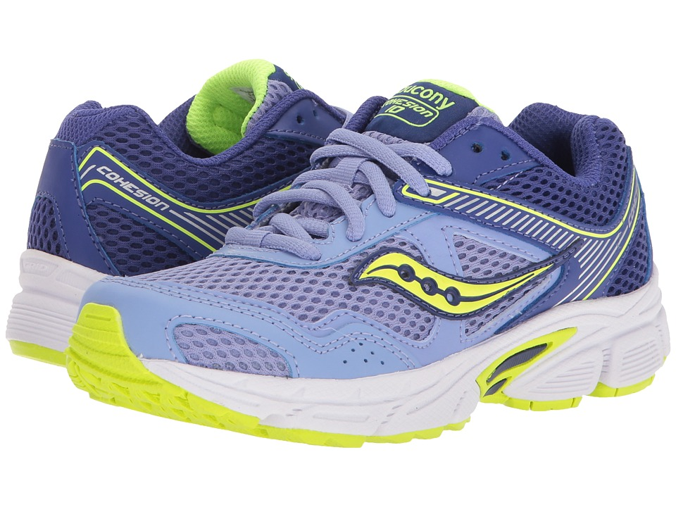 Saucony Kids - Cohesion 10 LTT (Little Kid/Big Kid) (Peri...