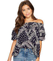 Angie - Off Shoulder Babydoll Top