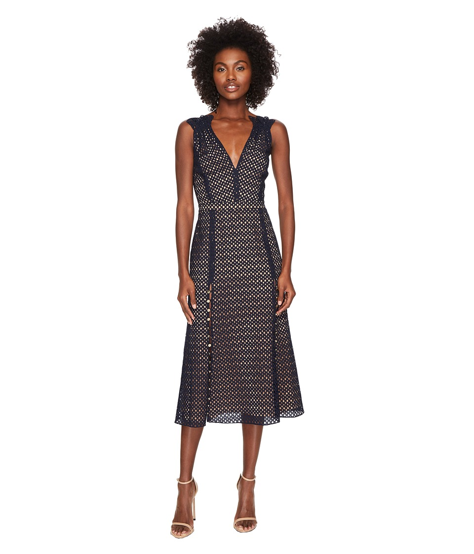 Prabal Gurung - Lace Cotton Eyelet Sleeveless Dress