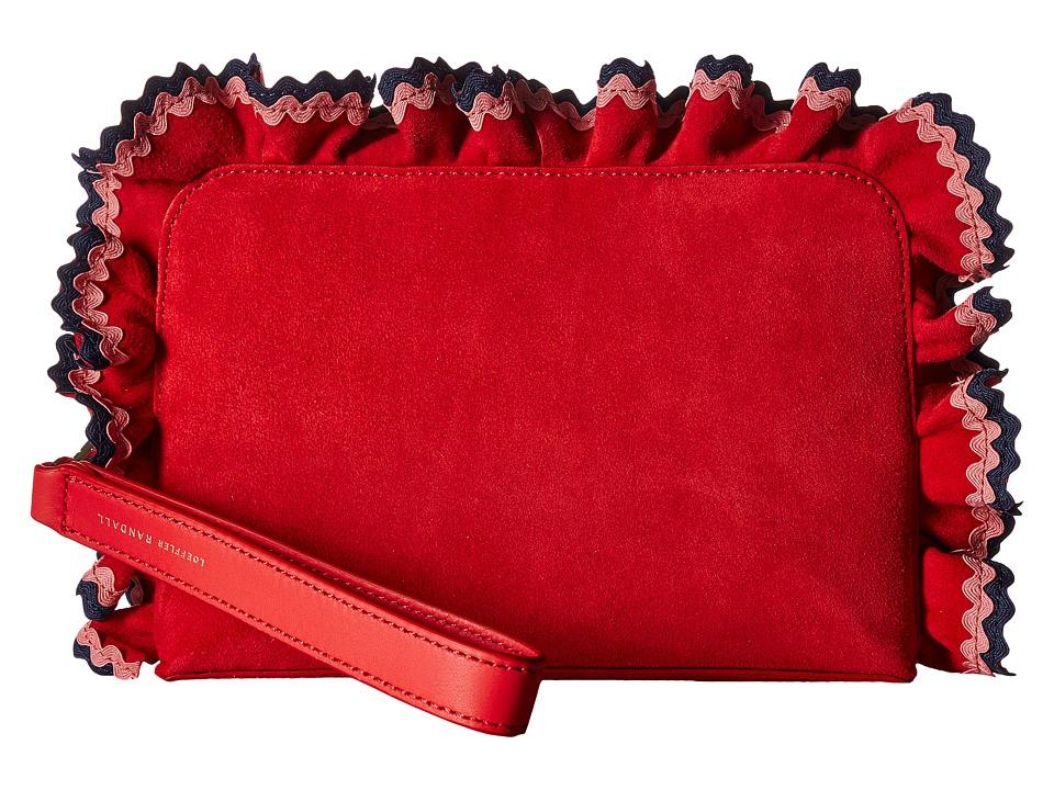 Loeffler Randall - Attache (Bright Red/Multi) Handbags