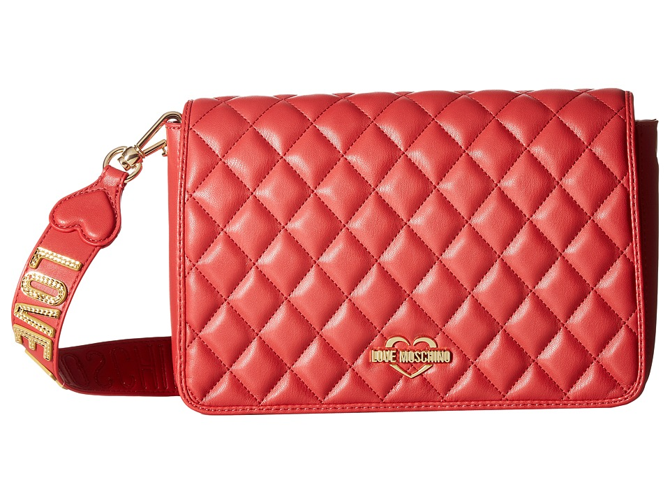 LOVE Moschino - Fashion Quilted Rectangle Bag