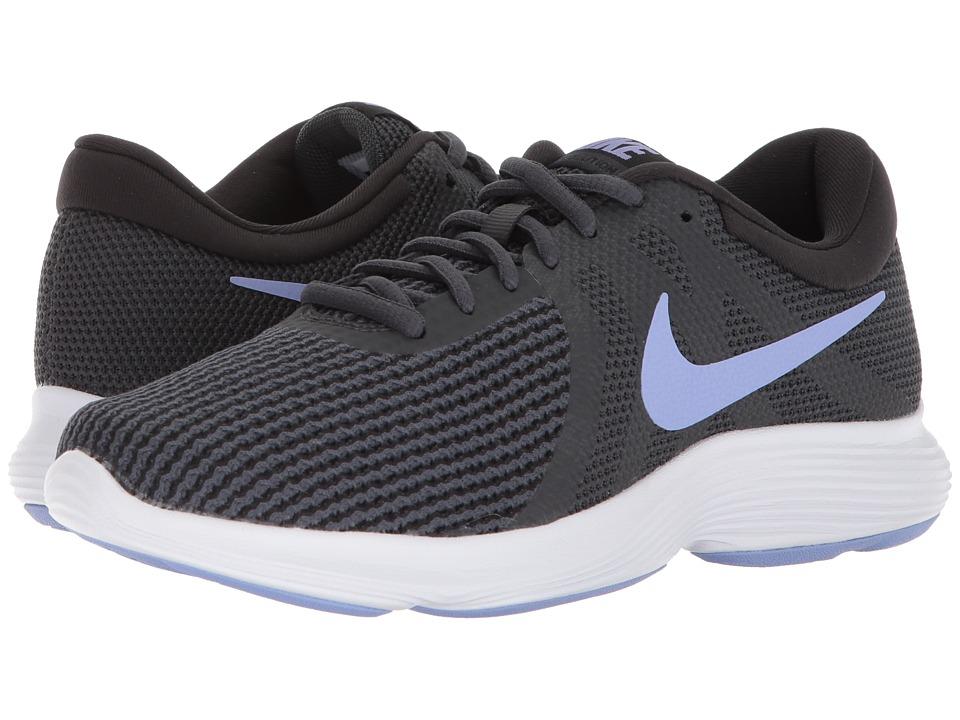 Nike Revolution 4 (Anthracite/Twilight Pulse/Black) Women...
