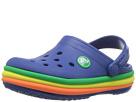 Crocs Kids Crocband Rainbow Band Clog (Toddler/Little Kid)