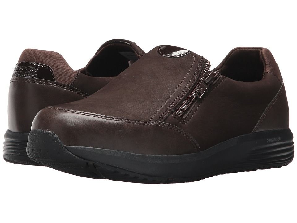 Rockport Works Trustride Work (Dark Brown) Women's Shoes