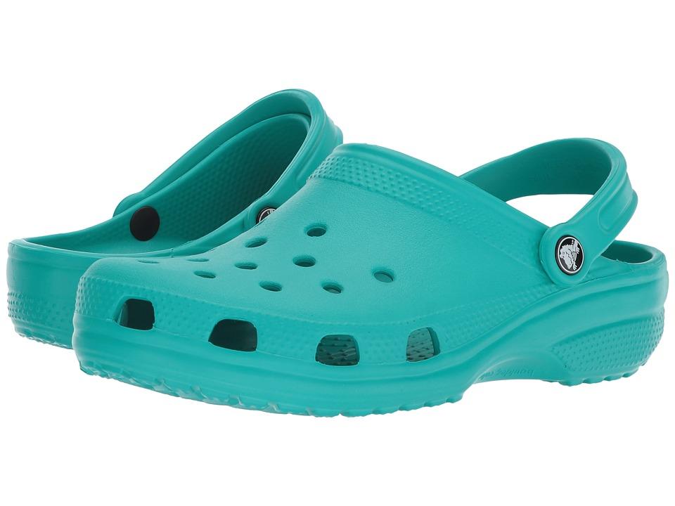 Crocs Classic Clog (Tropical Teal) Clog Shoes