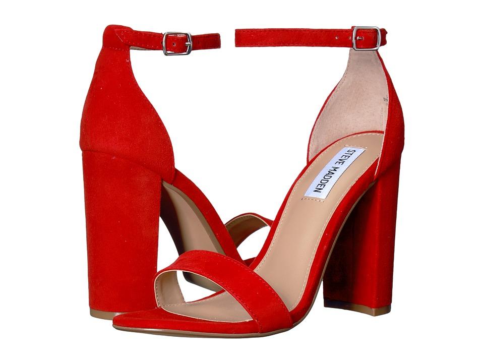 Steve Madden Carrson (Red Suede) High Heels