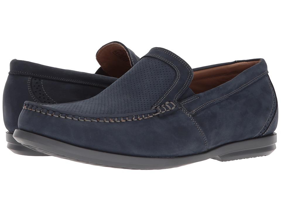 Clarks - Un Gala Free (Navy Nubuck) Mens Shoes