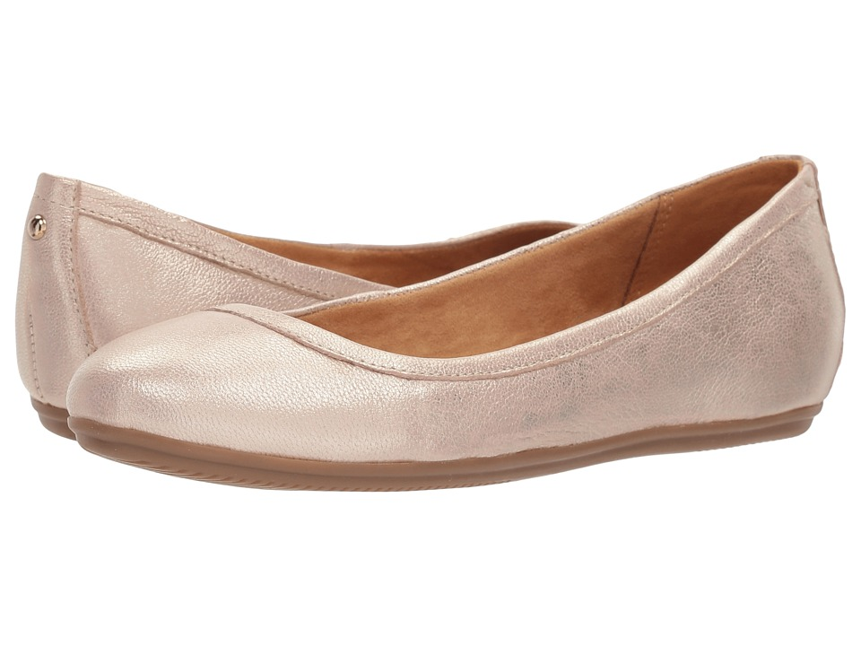 Naturalizer Brittany (Taupe Metallic Leather) Flats