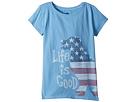 Life is Good Kids Life is Good Kids Crusher Big Dog Flag Tee (Little Kids/Big Kids)