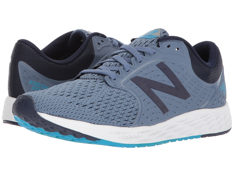 New Balance Fresh Foam Zante v4 (Deep Porcelain Blue/Pigment/Maldives Blue) Women's Running Shoes