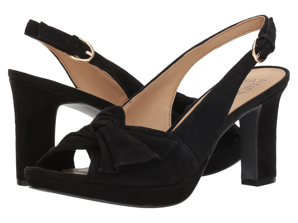 Naturalizer Fawn (Black Suede) High Heels