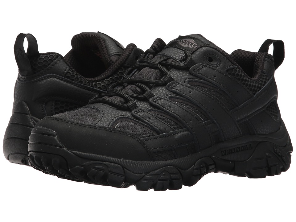 Merrell Work Moab 2 Tactical (Black) Women's Industrial Shoes