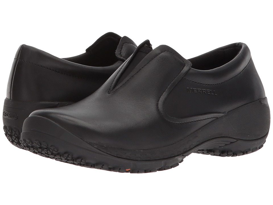 Merrell Work - Encore Moc Q2 Pro (Black) Womens Industrial Shoes