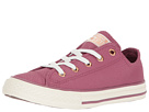 Converse Kids Chuck Taylor All Star Fashion Leather Ox (Little Kid/Big Kid)