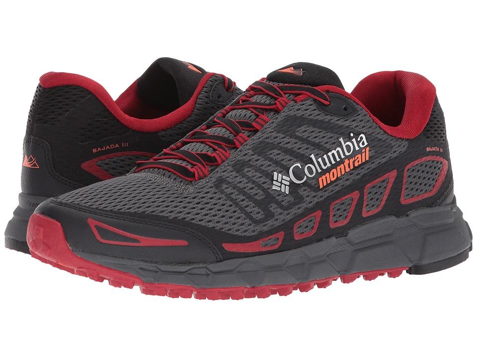 Columbia - Bajada III (Graphite/Tangy Orange) Mens Running Shoes