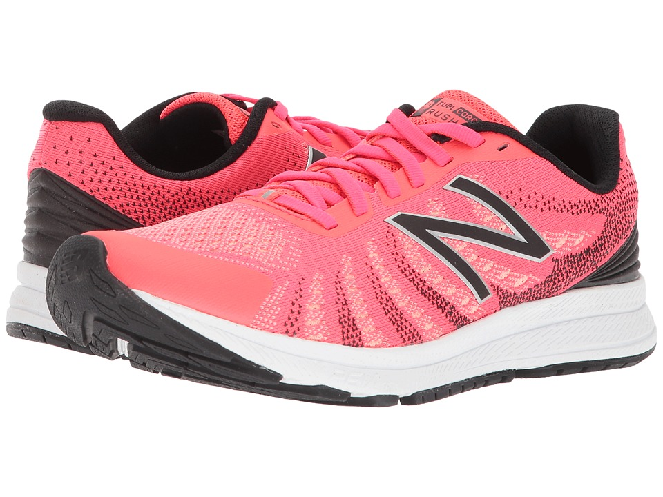 New Balance Rush V3 (Vivid Coral/Fiji/Black) Women's Running Shoes