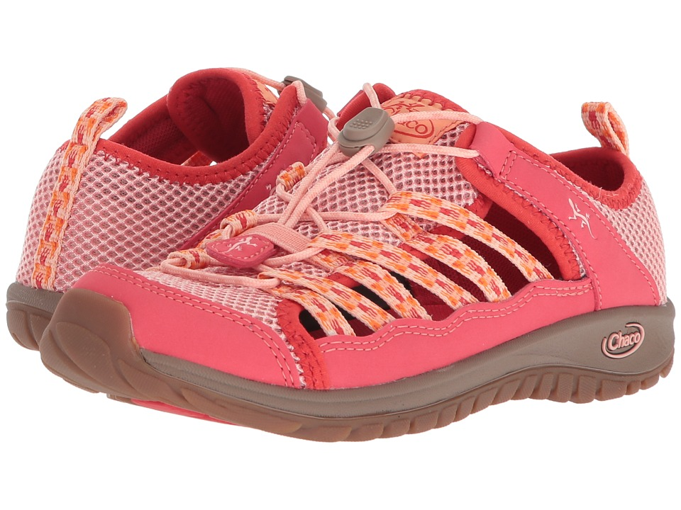 Chaco Kids Outcross 2 (Toddler/Little Kid/Big Kid) (Peach) Girls Shoes