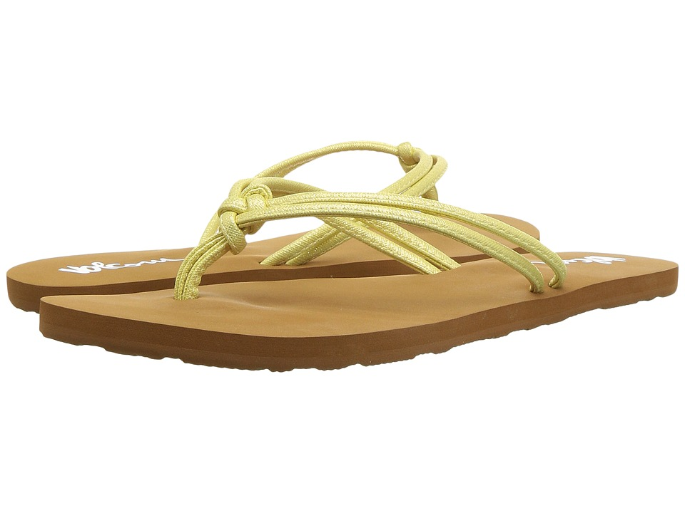 Volcom Forever and Ever 2 (Citron) Sandals