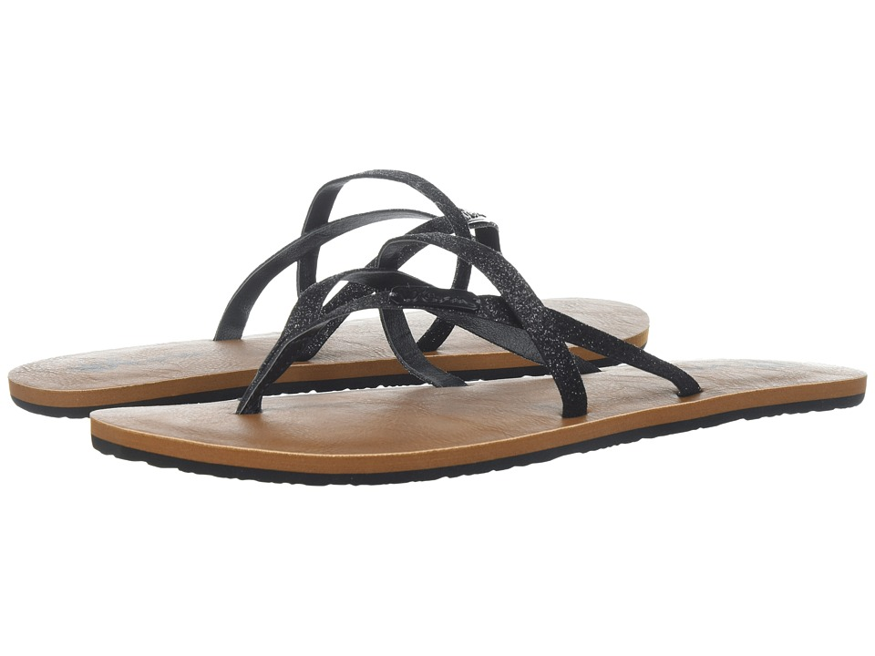 Volcom All Night Long 2 (Black Combo) Sandals