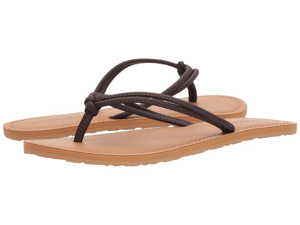 Volcom Forever 3 (Brown) Sandals