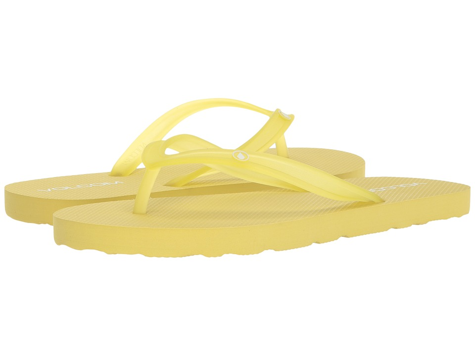 Volcom Rocking 2 Solid Sandal (Citron) Sandals