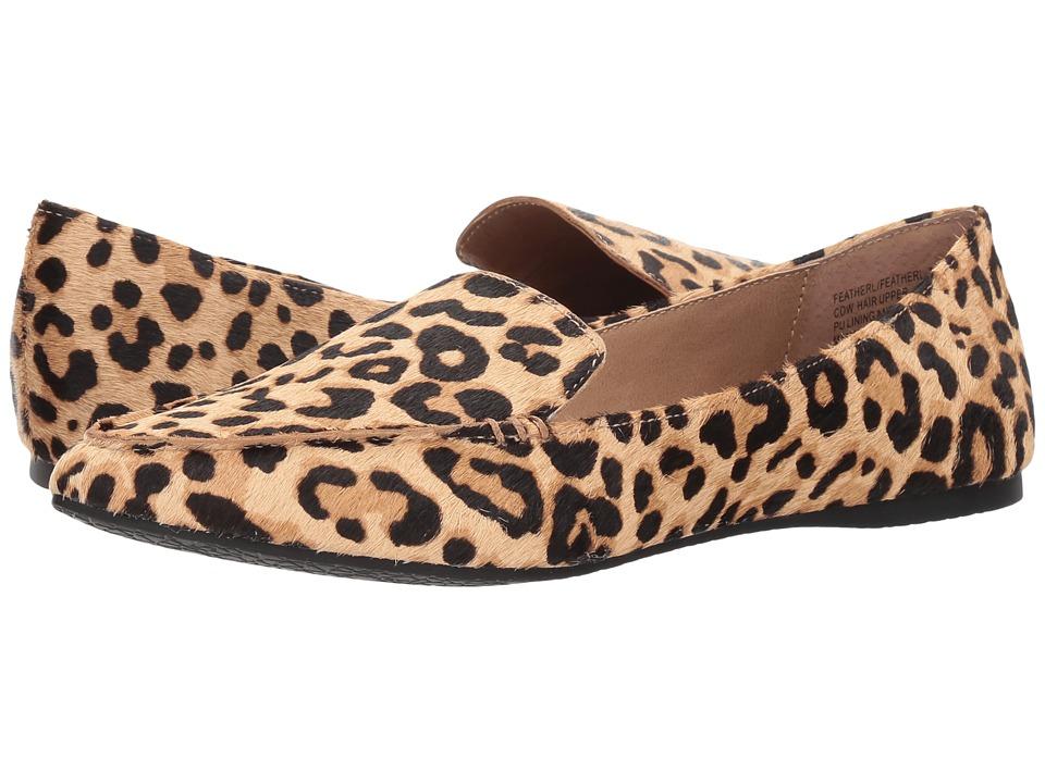 Steve Madden Featherl Loafer Flat (Leopard) Women's Flat ...