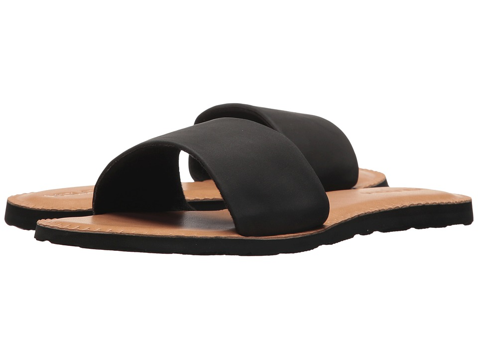 Volcom Simple Slide Sandals (Black) Sandals