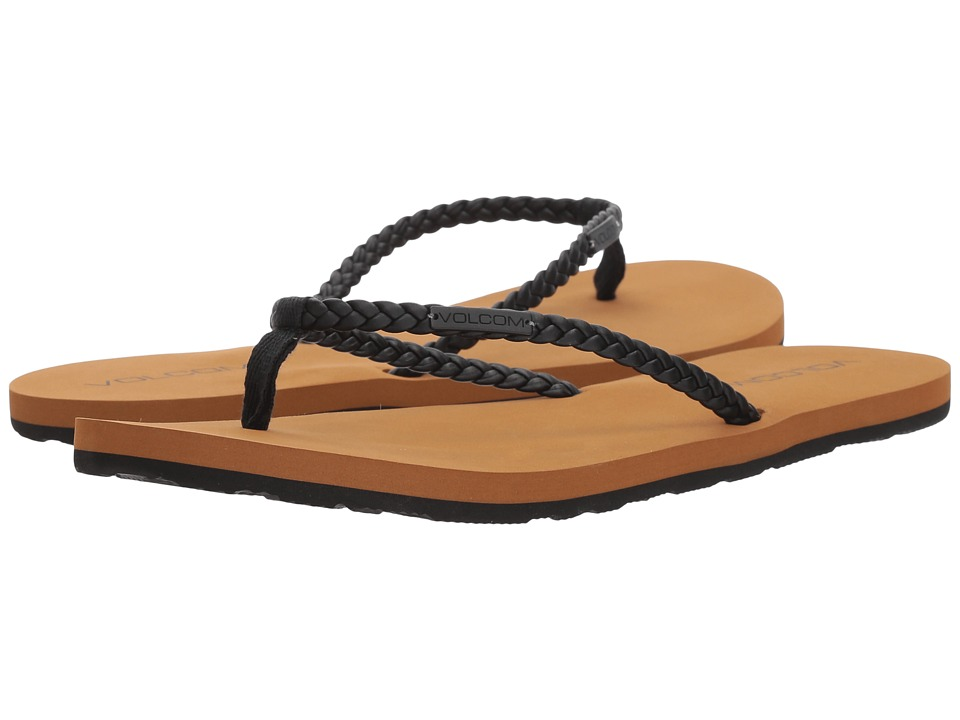 Volcom Weekender Sandals (Black) Sandals