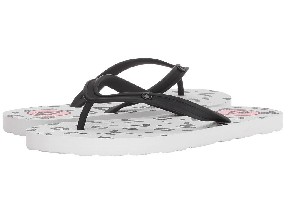 Volcom Rocking 3 Sandals (White) Sandals