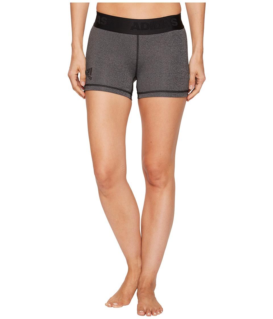 Adidas Alphaskin Sport 3 Short Tights (Dark Grey Heather/...