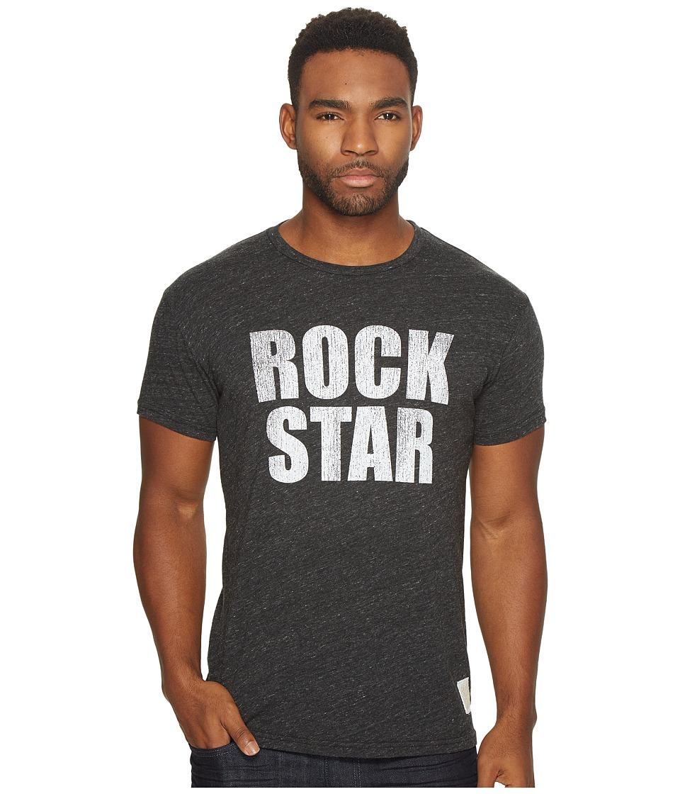 The Original Retro Brand - Short Sleeve Tri-Blend Rock Star Tee