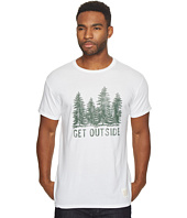 The Original Retro Brand - Short Sleeve Vintage Cotton Get Outside Tee