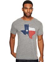The Original Retro Brand - Texas Flag Short Sleeve Tri-Blend Tee