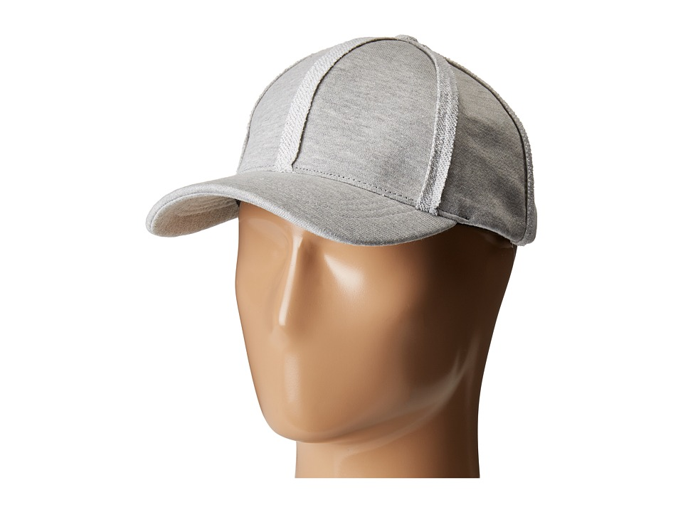 Steve Madden Sweatshirt Baseball Cap (Light Heather Grey) Baseball Caps